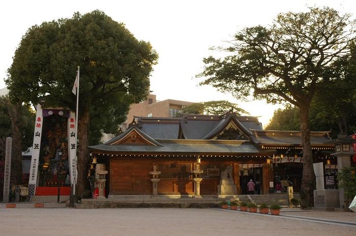 櫛田神社、引き