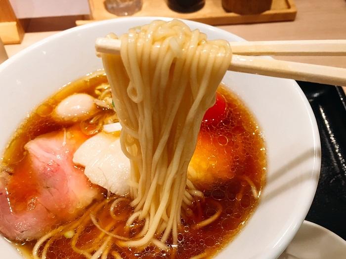 中華そば醤油(¥740)を実食2
