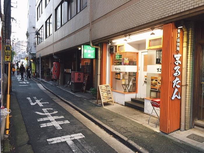 博多拉担麺「まるたん」天神店の店舗情報