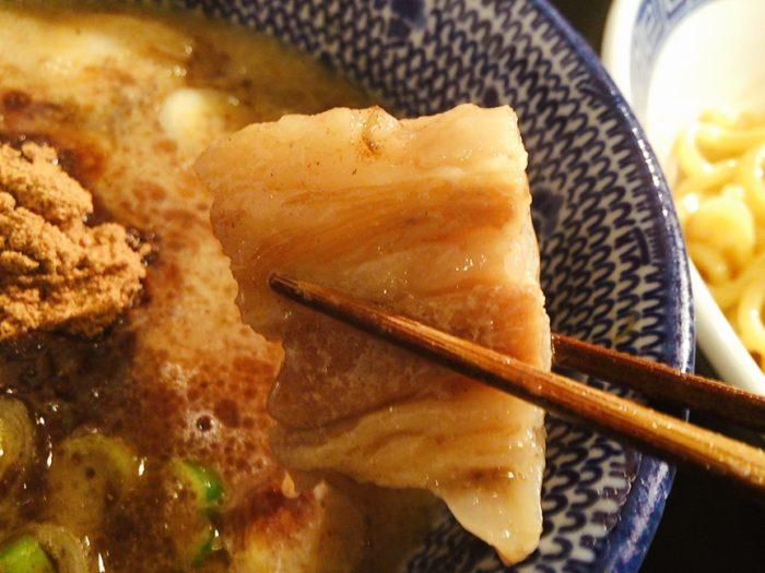濃厚つけ麺(¥900)を注文!4