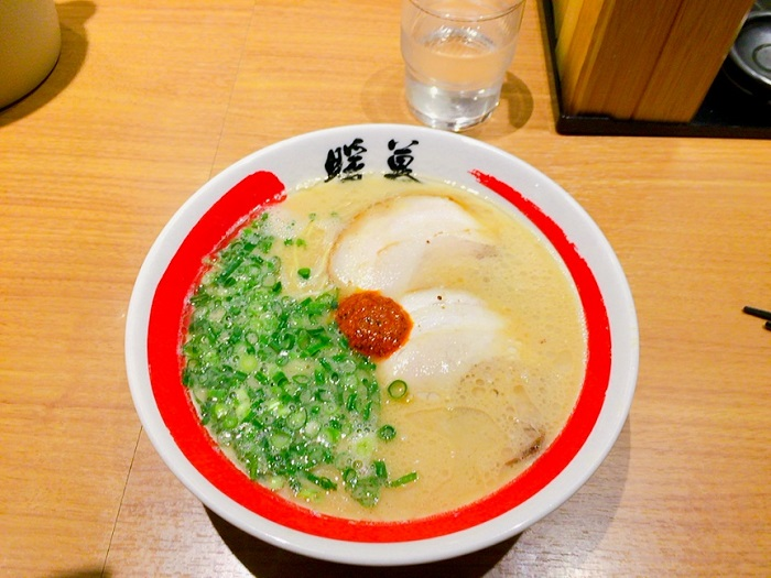 ラーメン(¥680)を注文